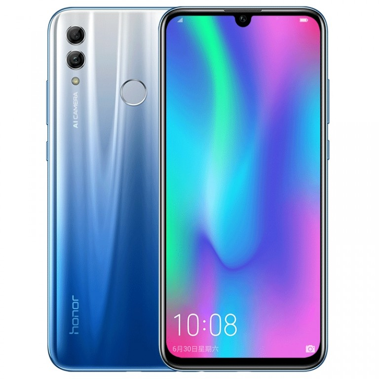 Honor 10 Lite Gradient Blue