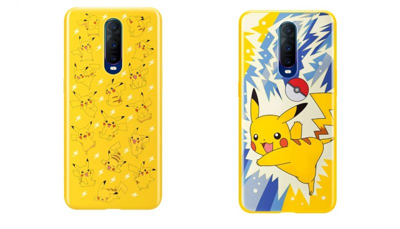 Oppo R17 Pro with Pokemon Case