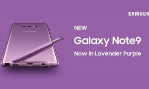 Samsung Galaxy Note 9 Lavender Purple
