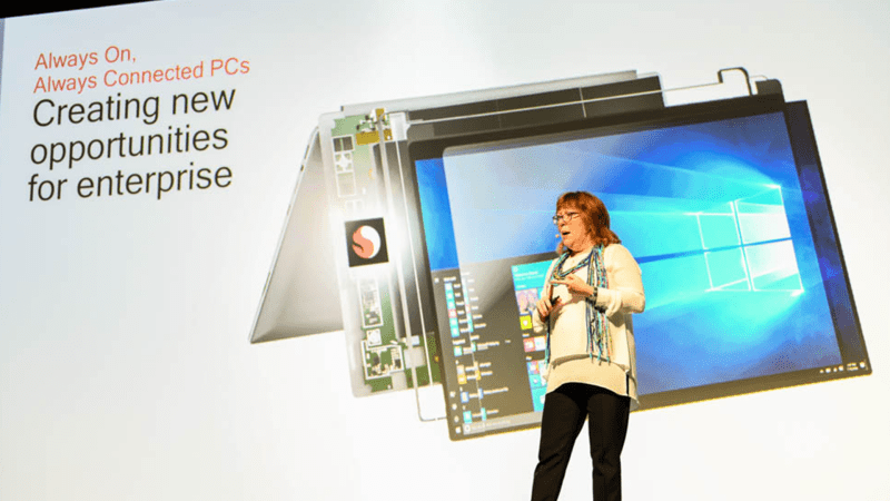 Qualcomm Snapdragon 8cx with mary gendron