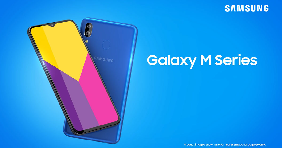 Samsung Galaxy M Series 2019 Official