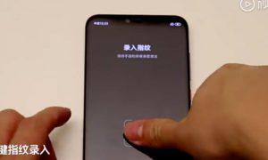 Xiaomi In display fingerprint New Sensor