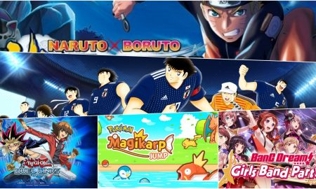 5 anime and manga games