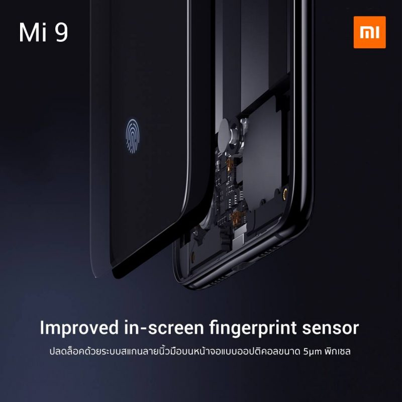 Xiaomi mi 9 - In Screen fingerprint