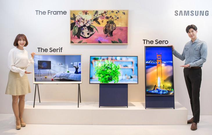 Samsung The Sero The Frame The Serif