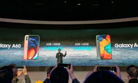 Samsung Galaxy A60 and Samsung Galaxy A40s