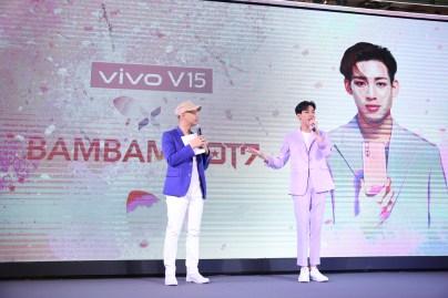 Vivo V15 x BAMBAM GOT7 Blossom UP Exclusive Fan Meet