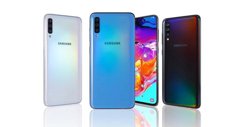Samsung Galaxy A70s Header