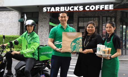 Starbucks X GrabFood delivery