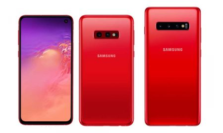 Samsung Galaxy S10 Series Cardinal Red