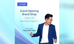 vivo Grand opening brand shop Siam paragon