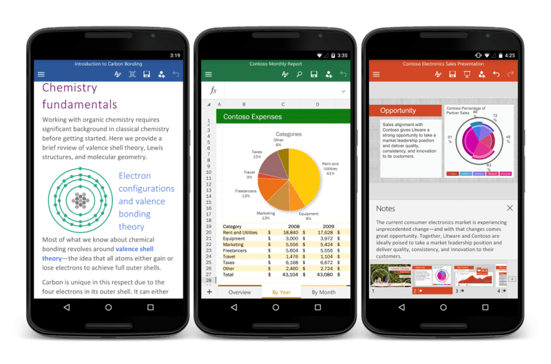 Microsoft Office Suite Android Microsoft Word