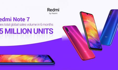 Redmi note 7 has sold 15 million units worldwide