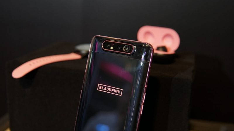 Galaxy A80 Smartphone Camera Can Be Rotated By Samsung And The Special Edition Blackpink Edition