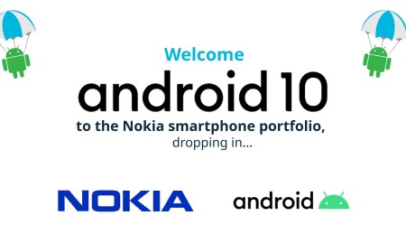 Welcome android 10 to Nokia
