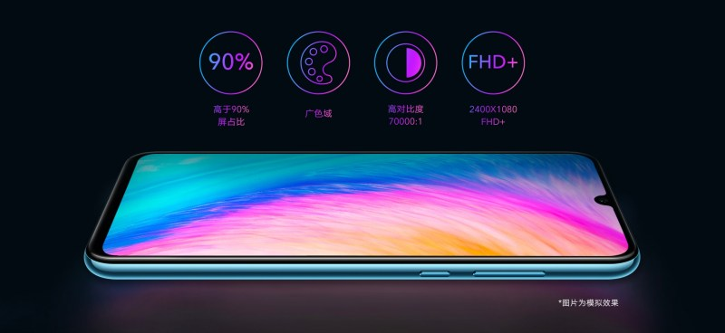 Honor 20 Lite (Youth Edition) Display