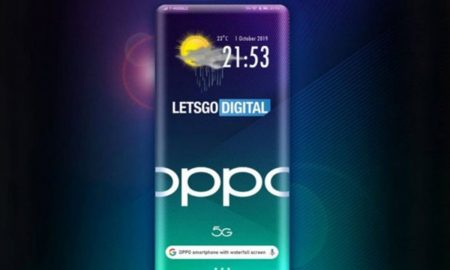 Oppo 3D waterfall display