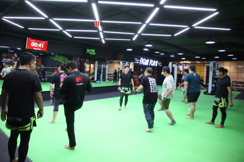 HUAWEI Watch GT 2 Boxing Workshop at MTM Muaythai Academy