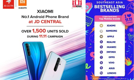 Xiaomi Shopping Online 11.11 Campaign in Thailand
