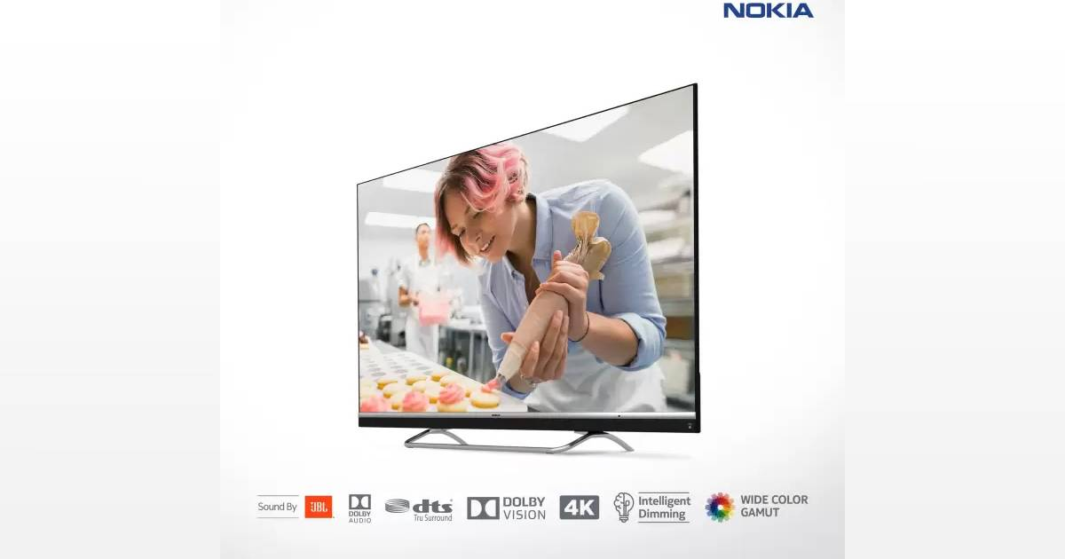 Nokia launches smart TV, 55 inch 4K screen for sale in India only