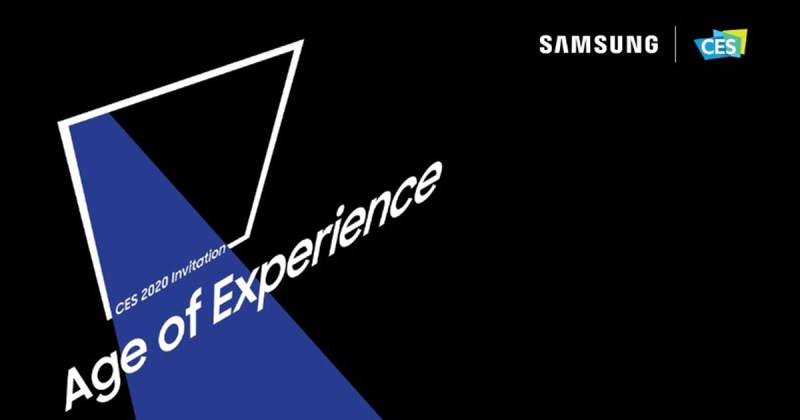 Samsung CES 2020 Live streaming Invitation