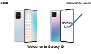 Samsung Galaxy S10 Lite and Note10 Lite launch in thailand