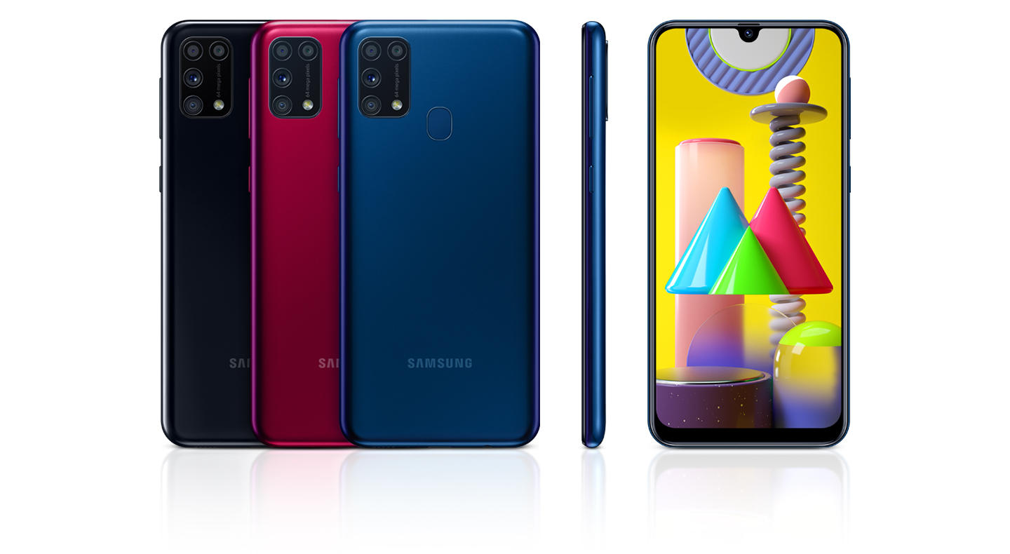 Galaxy M31_Device design