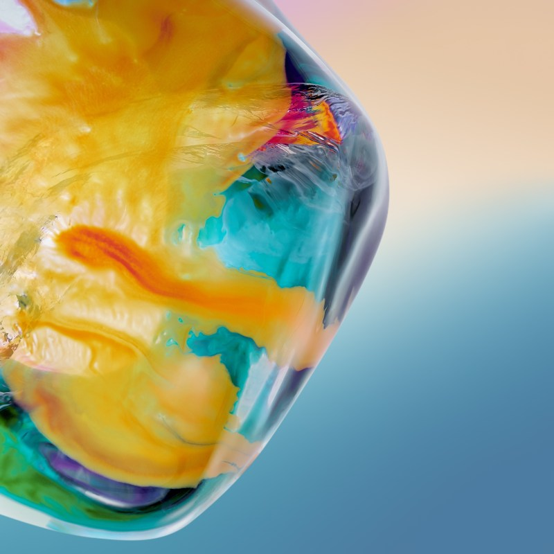 Huawei P40 Series wallpapers expressions of a thin piece of ice