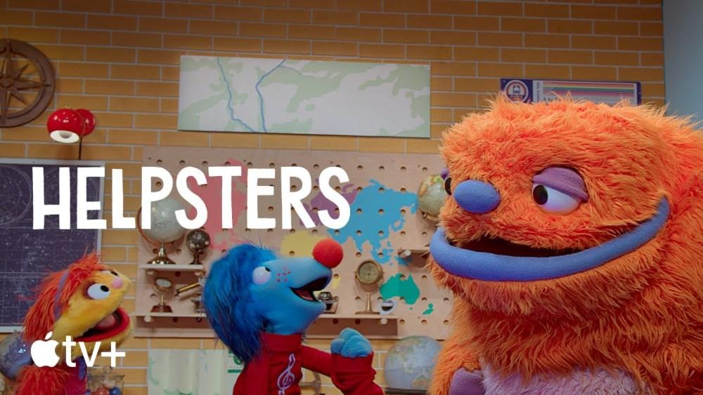 "Apple TV+ ปล่อยเทรลเลอร์ของ ""Helpsters"" ซีรีส์สำหรับเด็กก่อนวัยเรียนจากผู้สร้าง Sesame Street ที่จะฉายตอนใหม่ 7 ตอนในวันศุกร์ที่ 3 เมษายน"