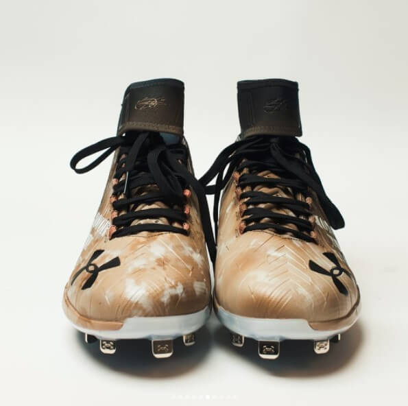 What Pros Wear Bryce Harpers Under Armour Harper 2 Cleats