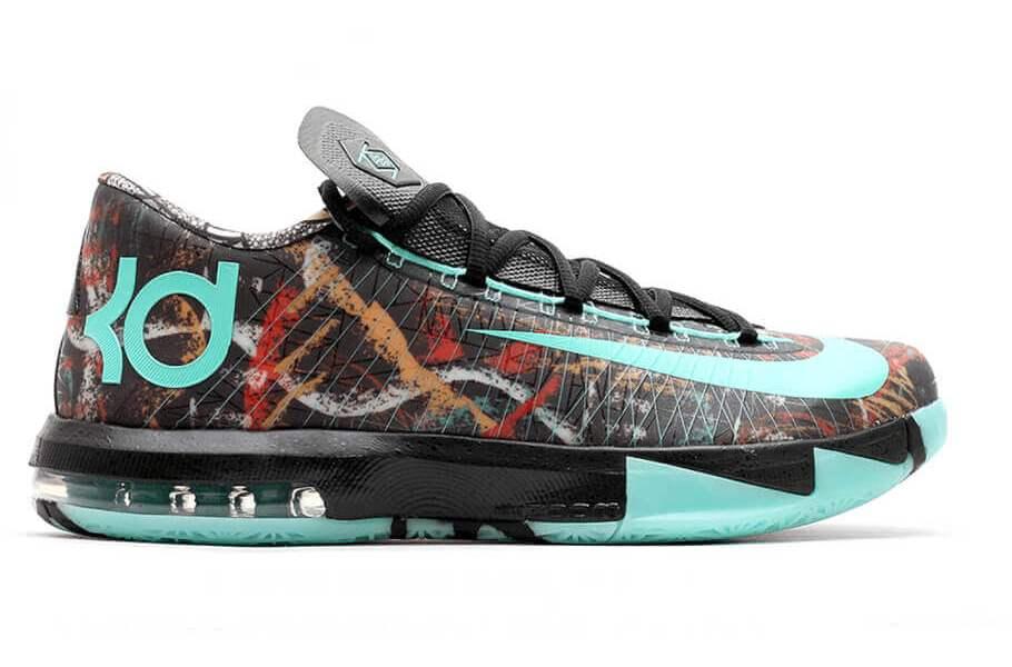 huge selection of 22bbf af7b3 Kevin Durant s Nike KD 6 Shoes