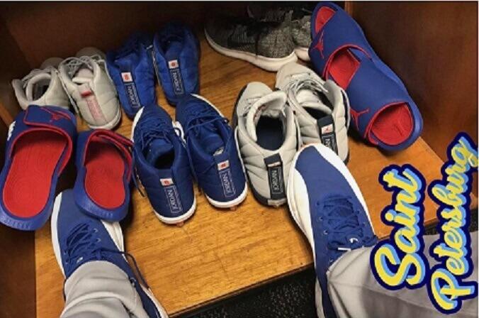 b2c400223f8e What Pros Wear: Marcus Stroman's Jordan 12 Cleats - What Pros Wear