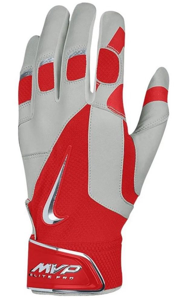 4ec587be7937 What Pros Wear  Mike Trout s Nike MVP Elite Pro Batting Gloves ...