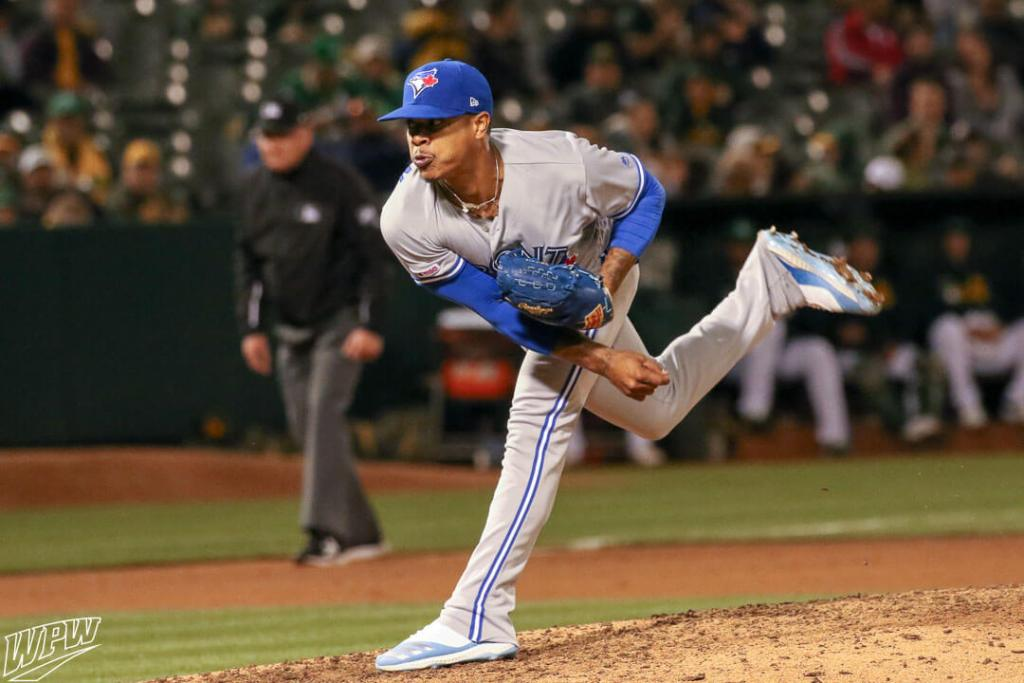 7683b0141e70 What Pros Wear: Marcus Stroman's Adidas Icon Bounce 4 Cleats - What Pros  Wear
