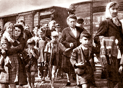 Germans expelled from Czechoslovakia