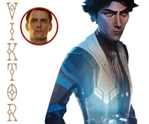 Arcano Temporada 1 Elenco Harry Lloyd Viktor