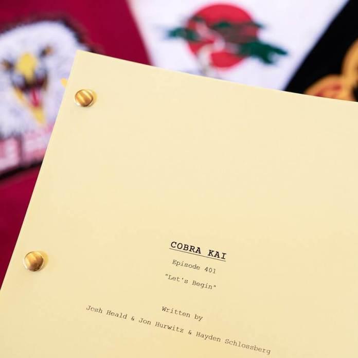 Cobra Kai Season 4 Episode 1 Script