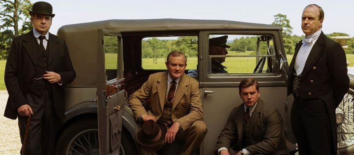 Drama de época de Netflix de Downton Abbey