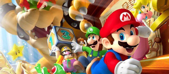Película de iluminación de Mario