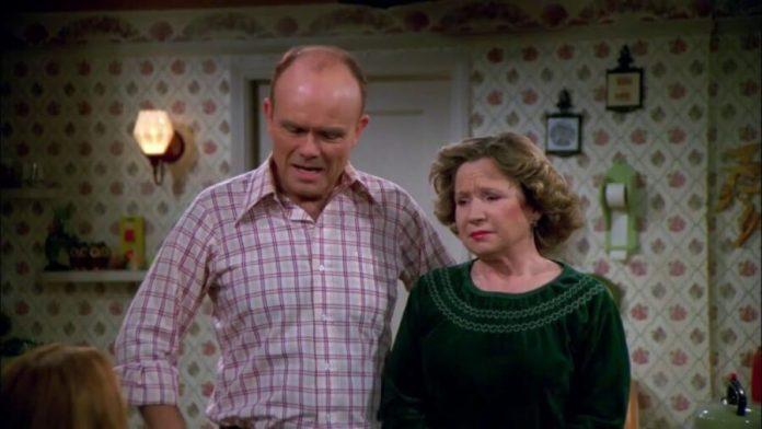 Debra Jo Rupp and Kurtwood Smith That 90s Show