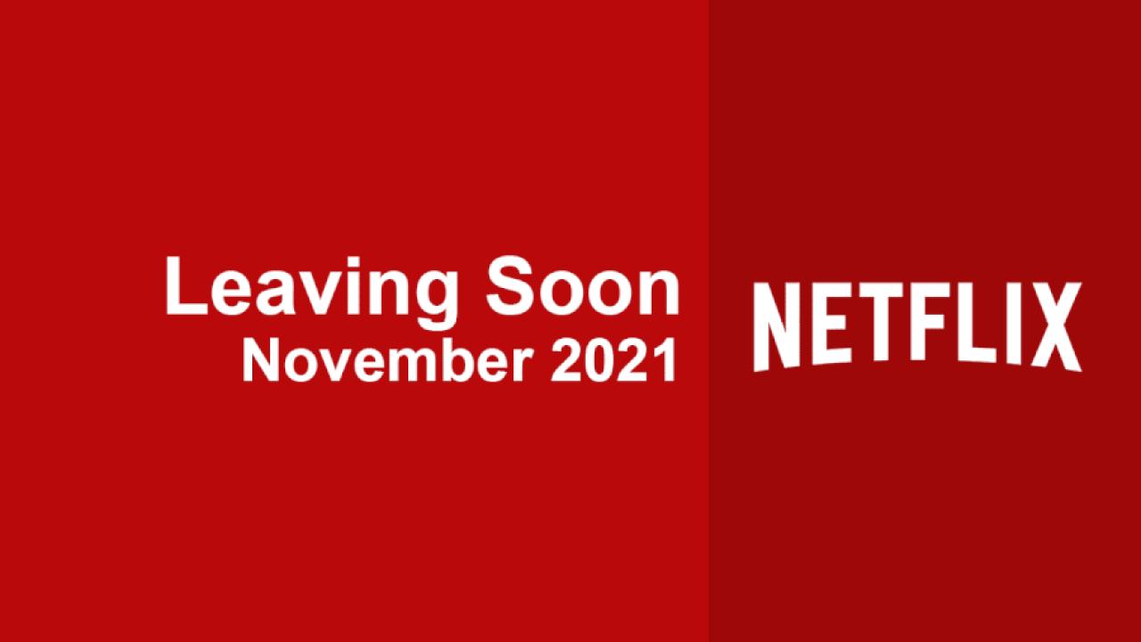 Dejando pronto Netflix, noviembre de 2021