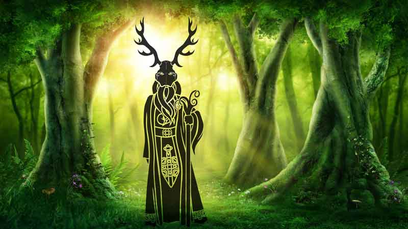 Celtic Symbols Of Cernunnos And Celtic God Meaning On Whats Your Sign