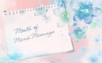 month of march meaning and symbols