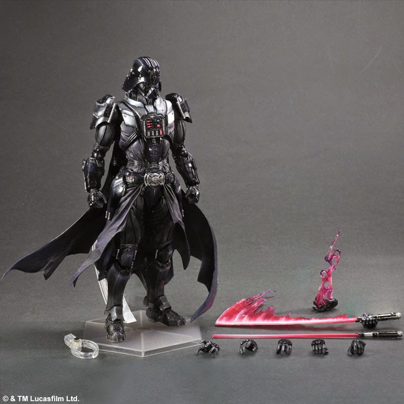 Play Arts Kai Darth Vader Preview (1)