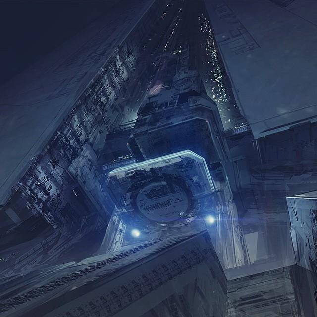 Neill Blomkamp Aliens concept art (4)
