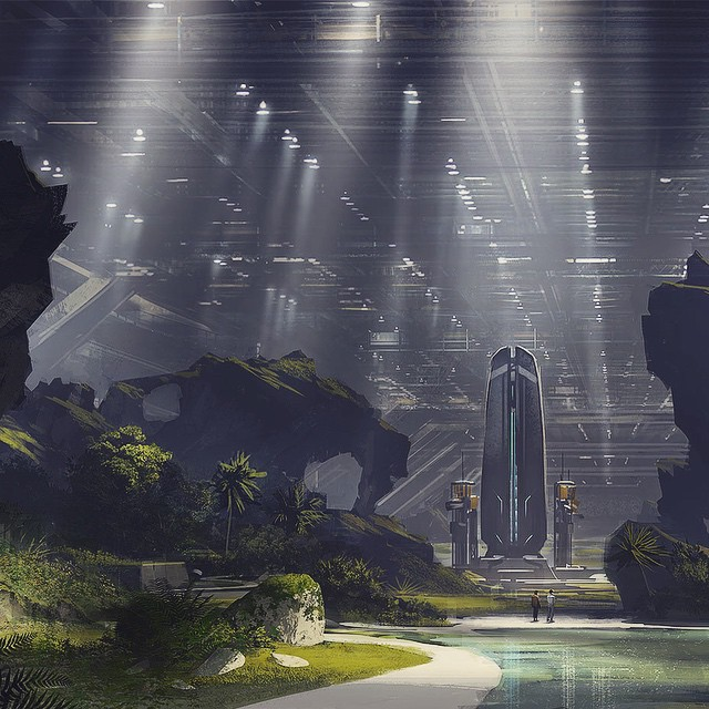 Neill Blomkamp Aliens concept art (6)