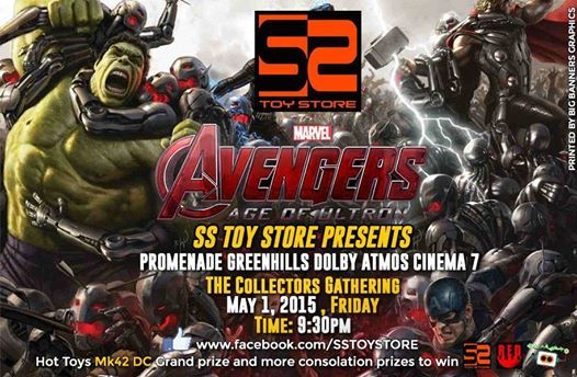 SS Toy Store Avengers Age of Ultron