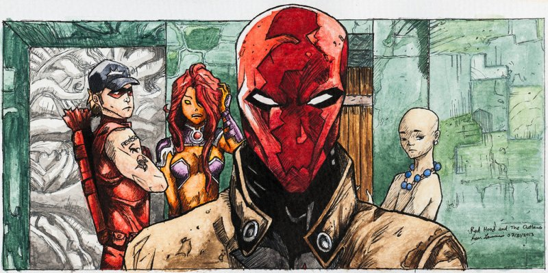 red_hood_and_the_outlaws_panel__water_color__by_ianjarold1-d6gbggr