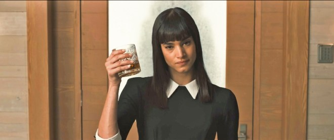 sofia boutella in KINGSMAN THE SECRET SERVICE