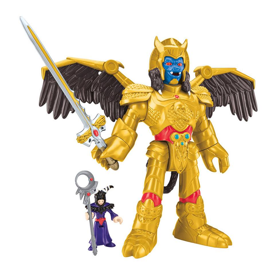 Mighty Morphin Power Rangers Imaginext Preview
